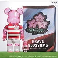 2019 ラグビー 日本代表 BE@RBRICK 100%&400% SET ベアブリック bearbrick 桜 BRAVE BLOSSOMS