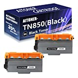 2 Pack (Black) TN850 High Yield Toner Cartridge Replacement for Brother L6250DW L6300DW L5500DN L5600DN L5650DN MFC L6700DW L6750DW L5700DW L5800DW L5900DW L6800DW L6900DW HL L6200DW/DWT Printers.
