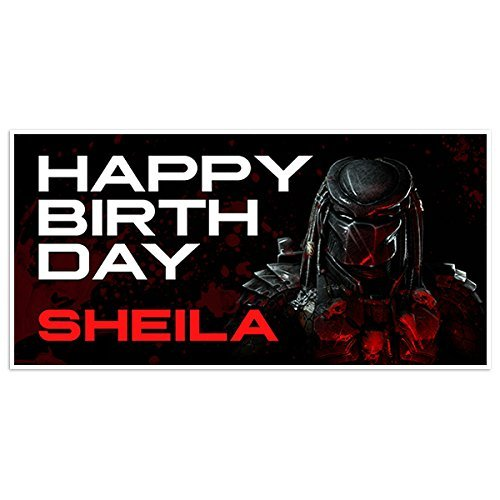 Predator Movie Film Birthday Banner Party Decoration Backdrop