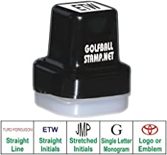 Golf Ball Stamp Personalized