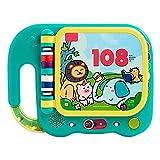Interesante Máquina de educación temprana de los niños Iluminación de juguetes inteligentes Aprendizaje temprano para aprender a aprender a leer las 108 palabras en inglés (gratis de la batería) Inter