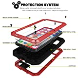 Safe Buy iPhone 6 / 6s Case, Heavy Duty Metal Case Gorilla Aluminium Shockproof Light...