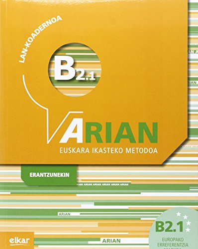 Arian B2.1 Lan-koadernoa (+erantzunak)