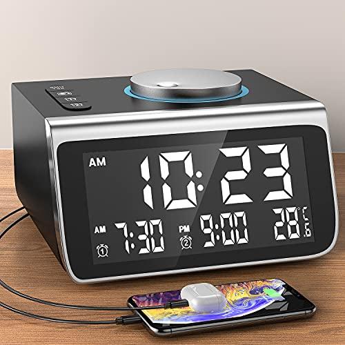 Dekala Alarm Clock for Bedroom...