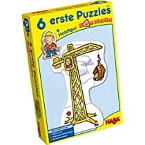Haba-3901-6-Primeros-Puzzles--Las-Obras-Bambi-Puzle-Infantil-Multicolor-3901