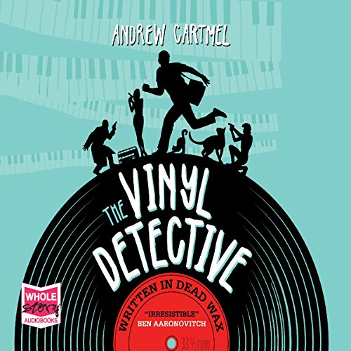 The Vinyl Detective: Written in Dead Wax audiobook cover art