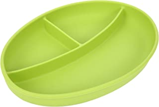 Silicone Baby Suction Plate (Green)