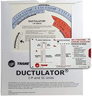 Trane Calculator Kit - (1) Trane Ductulator with Sleeve and (1) R-22 Charging Calculator