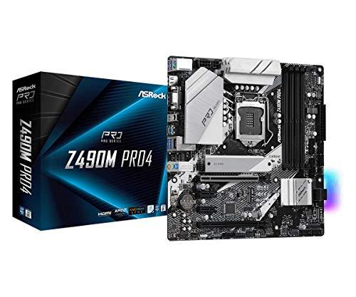 ASRock Z490M PRO4 Supports 10 th Gen Intel Core...