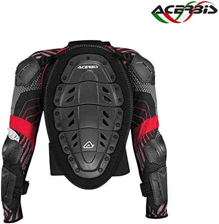 Acerbis 0017767 319 063 Weste Ce Jr 2 S M Schwarz Grau Auto