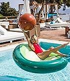 El mejor flotador aguacate para las piscina o playa.
