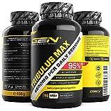 Tribulus Max - 180 Kapseln - 750 mg - 95% Saponine - Hochdosiertes Tribulus Terrestris Extrakt - Natürlicher Testosterone Booster - Premium Grade - German Elite Nutrtion