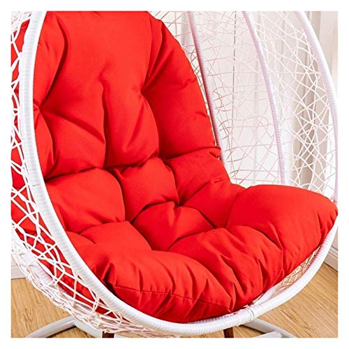 LLNN Home Decoration Swing Chair Cushion Thicken Hanging Egg Hammock Chair Pads Swing Hanging Basket Seat Cushion Waterproof Chair Seat Cushioning for Patio Garden Hanging Basket Furniture Cushion