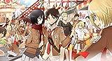 WYFCL 1000 Rompecabezas, Rompecabezas para Adultos y niños-Attack On Titan Anime Poster Puzzle-Increíbles Juegos de desafío, Juegos cooperativos para Toda la Familia