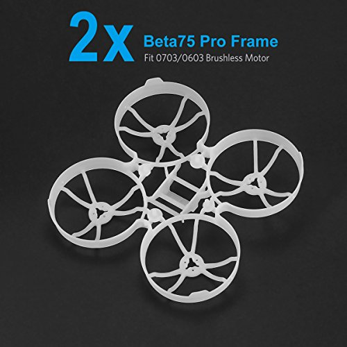 BETAFPV 2pcs Beta75 Pro Micro Brushless Whoop Upgraded Frame for 0703 or 0603 Brushless Motor Tiny Whoop