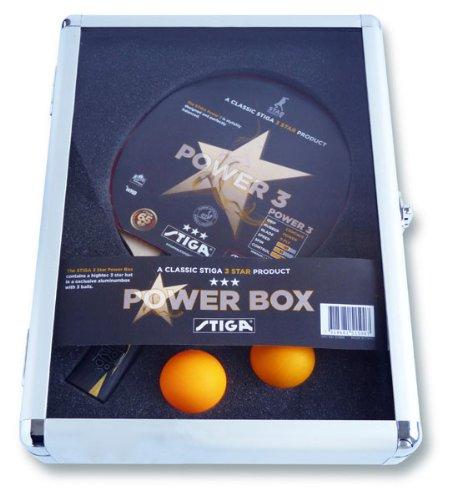 Best Bargain STIGA Power Box 3 Table Tennis Set