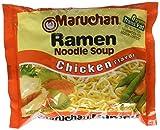 Maruchan Flavor Ramen Noodles, Chicken, 3 Ounce (Pack of 24)