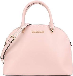 Michael Kors Large Emmy Women's Leather Shoulder Dome Satchel Bag