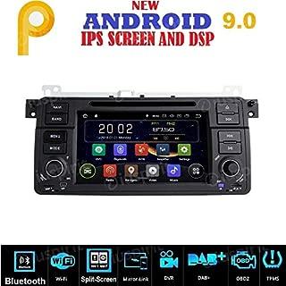 Android 9.0 GPS DVD USB SD WI-FI Bluetooth Mirrorlink Radio Navegador Compatible con BMW E46 / BMW M3 / Rover 75 / MG ZT