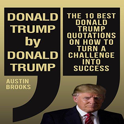 Donald Trump by Donald Trump audiobook cover art