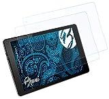 Bruni Schutzfolie kompatibel mit Vodafone Tab Prime 7 Folie, glasklare Bildschirmschutzfolie (2X)