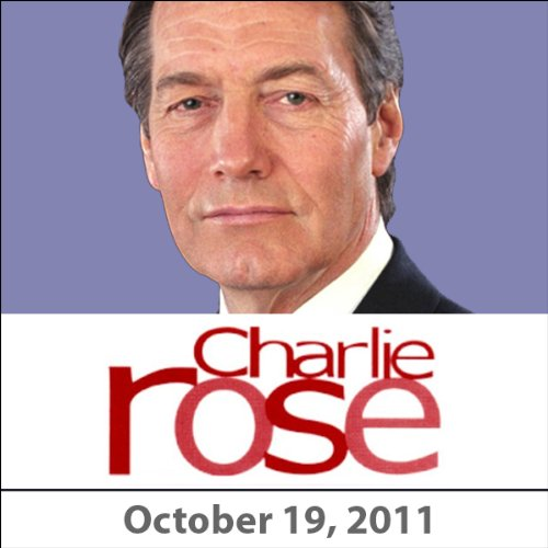 Charlie Rose: Rem Koolhaas, Mike Nichols, Christopher Buckley, and Robert Gottlieb, October 19, 2011 audiobook cover art