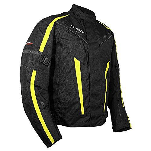 Roleff Racewear Jacken, Schwarz/Neongelb, Größe M