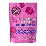Suncore Foods – Premium Fuchsia Hibiscus Supercolor Powder, 5oz – Natural Hibiscus Flower Food Coloring Powder, Plant Based, Vegan, Gluten Free, Non-GMO