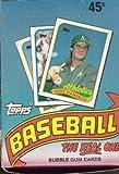 1989 Topps Baseball Cards Unopened Box (36 packs per box) [Misc.]