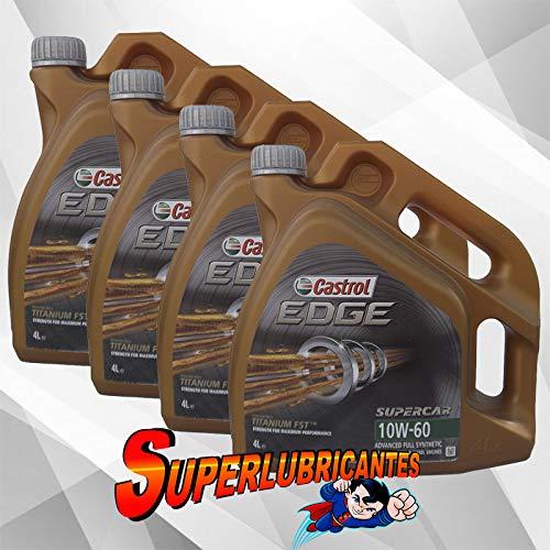 Mundocoche Castrol Edge Supercar 10W60 4x4L(16Litros)