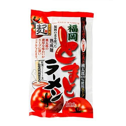 福岡 とまとラーメン 熟成麺 140g TVで紹介されました! 大人気 話題のラーメン