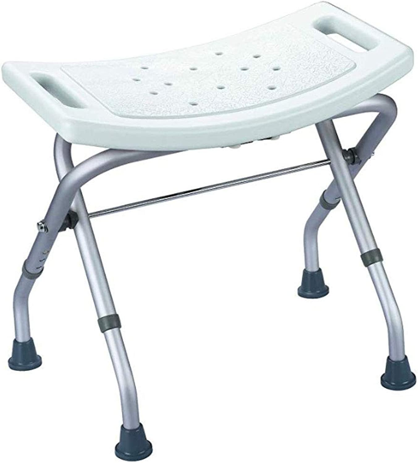 MTBHW Non-slip Bathtub & Shower Seat, Folding And Adjustable In Height, White