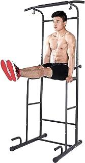 ぶら下がり健康器 懸垂マシン パワータワー 多機能筋力トレーニング 耐荷重150kg 懸垂 器具 筋肉トレーニング チンニングスタンド マルチジム ぶらさがり Safly Zone (セフレィゾーン)