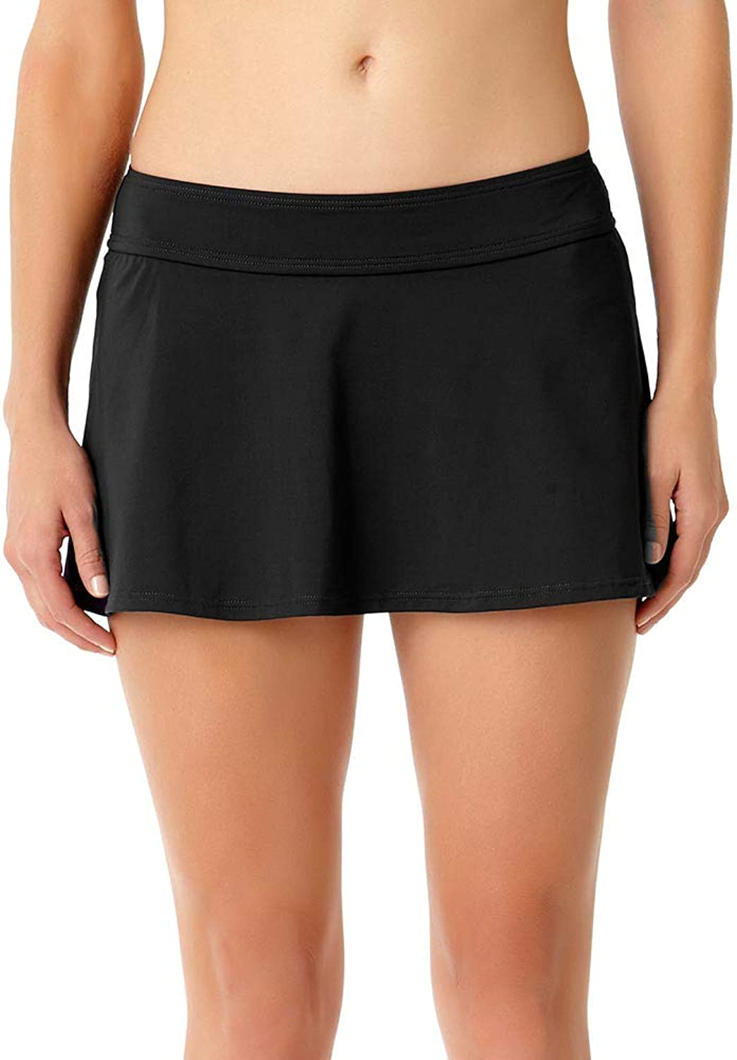 Anne Cole Black Rock Swim Skirt