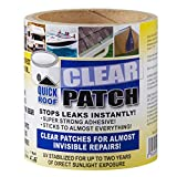 Cofair Products QRCP46 Quick Roof Clear Patch - 4' x 6'