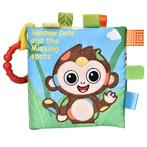 De alta calidad Infantil del bebé suave del paño libro de desarrollo...