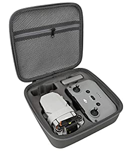 Storage Bag for DJI Mini 2-Newest Mini 2 Drone Case Hard Shell Travel Carrying case Compatible with DJI Mini 2 Drone and Accessories-Grey from Okima
