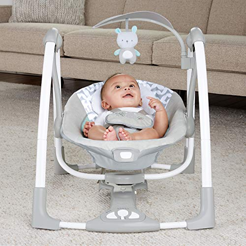 51cvQ n93AL The Best Fully Reclined Baby Swings for 2021 Review
