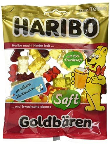 Haribo SAFT GOLDBÄREN, 20er Pack (20 x 175 g)