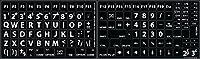 Mac English US Large Lettering Upper Case Keyboard Sticker for PC, Laptop, Desktop New Font [並行輸入品]