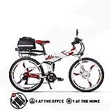 RICH BIT RT860 Vélo Électrique 250W*36V*12.8Ah Vélo Pliant Shimano 21 Vitesse VTT Smart Vélo...