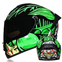 モトクロスモーターサイクルヘルメット、DOT認定モーターサイクルヘルメット、ユニセックス、モーターサイクルクラッシュヘルメット、デュアルレンズクラッシュヘルメット(S-XL) C,M