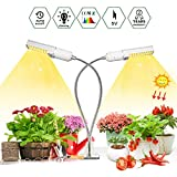 Upgrade 50w Sunlike LED Grow lampada con timer per piante d'interno, Niello Full Spectru...