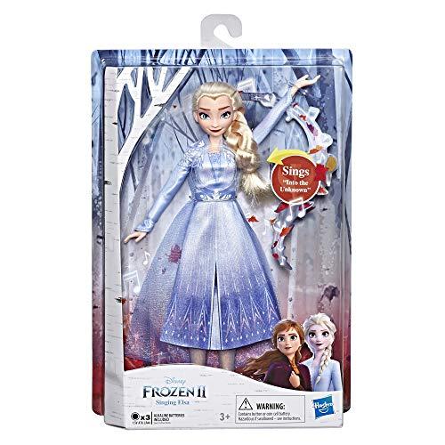 Disney La Reine Des Neiges 2 - Poupee Princesse Disney Elsa Chantante (en français) - 27 cm