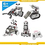 4 in 1 Kids Remote Control Construction Robot Vehicle Building Kit Educational Building