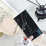 Cocomii Trunk Marble Armor iPhone 8 Plus/7 Plus Case NEW [Square Granite] Ultra HD Vivid Pattern Never Fade Anti-Scratch Shockproof [Slim] Rectangle Box Cover for Apple iPhone 8 Plus/7 Plus (TM.Black)