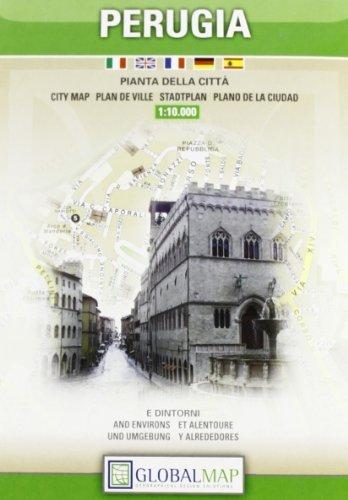 Perugia City Map 1:10.000 (English, Spanish, French, Italian and German Edition) by Litografia artistica Cartografica (2010-01-01)