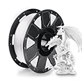 2021 Latest Creality PLA Filament 3D Printer Filament 1.75mm, 2.2lbs Spool for All Creality Ender, CR Series 3D Printer and 3D Pen, White
