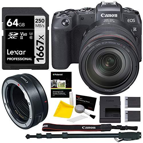 Canon EOS RP Mirrorless Camera RF 24-105 is USM Lens Bundle (3380C012)