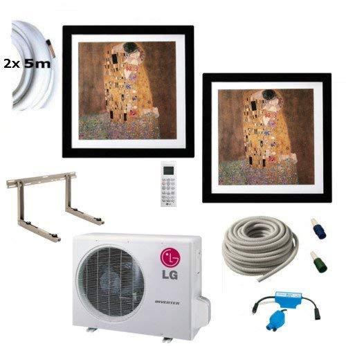 Climatizzatore completo, multisplit LG Gallery da parete dispositivi 1x 2,6kw + 1x 3,5kw